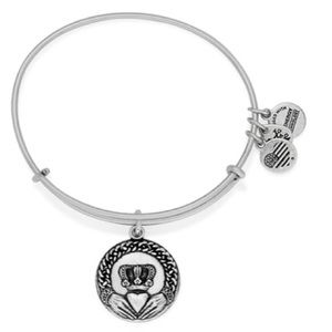 BNWT Alex and Ani | Irish Claddagh Bangle Bracelet